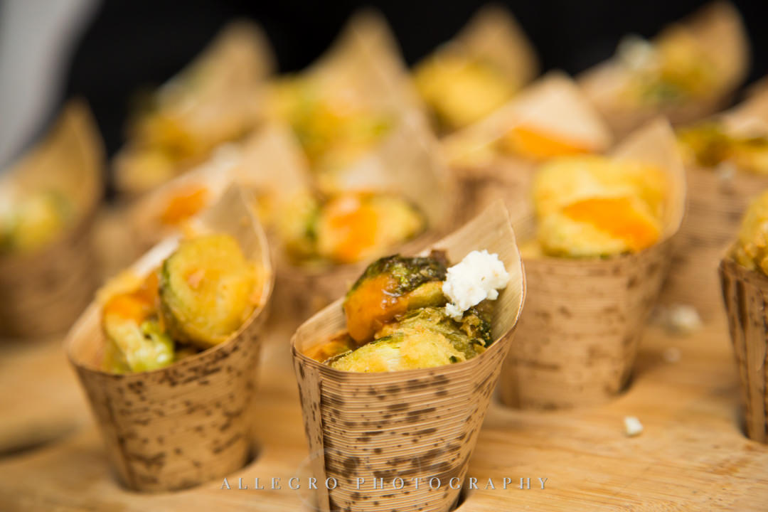Finger food at wedding | Allegro Photography