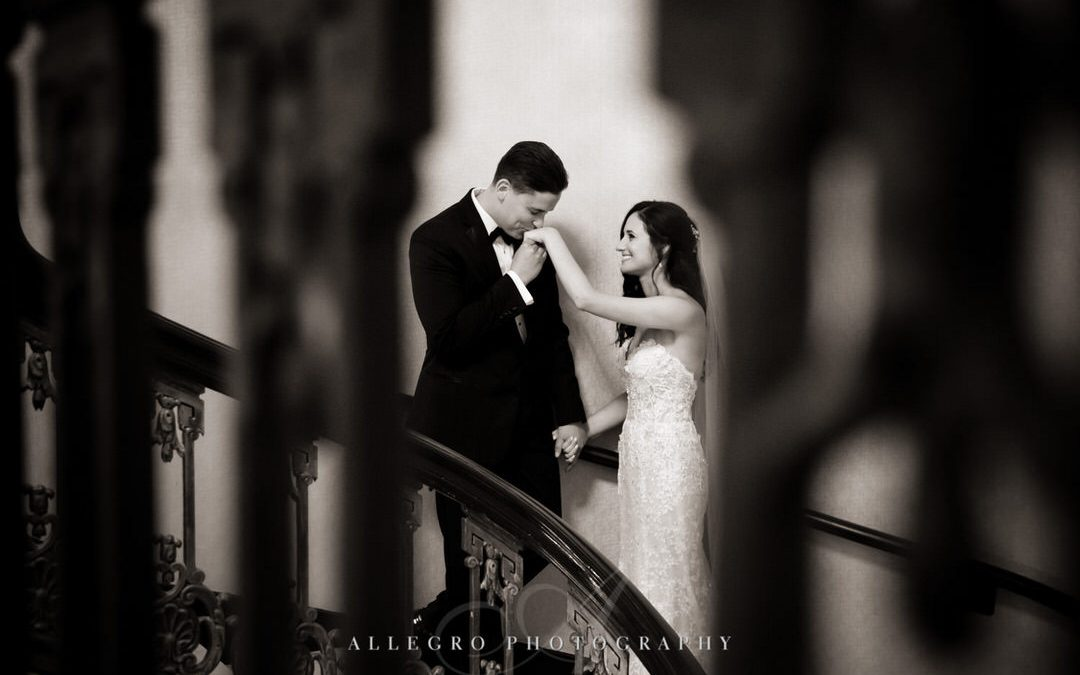 Fairmont Copley Plaza Boston Wedding – J+J
