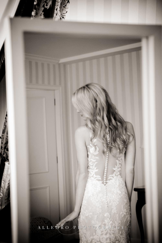 back of brides martina liana dress